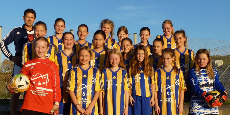U15 Sv Schwaig B Nurnberg Fussball Juniorinnen